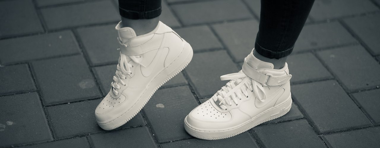 Ghete Nike Air Force 1 + Bonus: poze cu mine :)