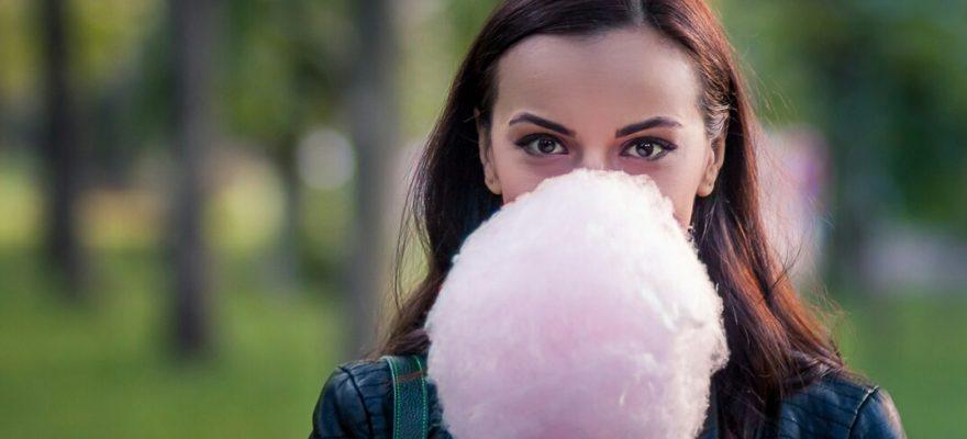 Vată de zahăr :)